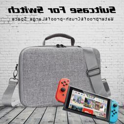 Shoulder Sling Bag Hard Shell Carrying Suitcase Travel Case