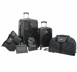 Steve Madden Signature 6 Piece Spinner Suitcase Set Collecti