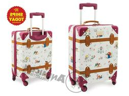 "Disney Store ANIMATORS' COLLECTION ROLLING LUGGAGE 21"" NEW N"