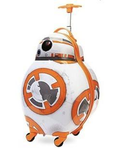 Disney Store Star Wars BB-8 Hard Shell Rolling Luggage Case