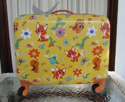 Disney Store The Fox and The Hound Hard Case Rolling Luggage