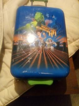 DISNEY Store Toy Story Action Heros Hard Shell Suitcase