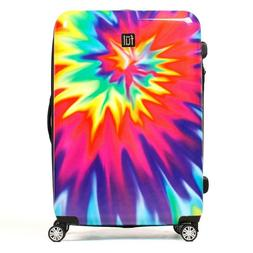 ful Luggage Swirl 24 Inch Spinner Rolling Luggage Suitcase,