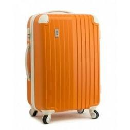 """EDDAS Trolley Bag 25"""" Spinner Wheel Hard Shell ABS Luggage S"""