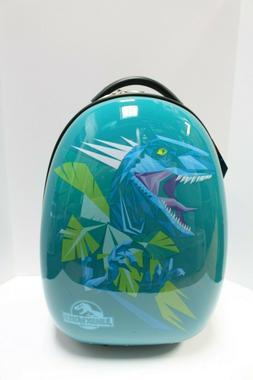 velociraptor jurassic world kids luggage hard side