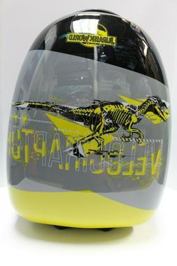 Velociraptor Yellow Grey Jurassic World Kid Luggage Hard Sid